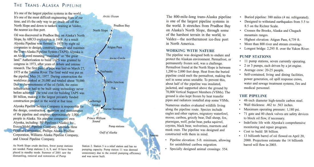the alaskan highway pipeline project essay