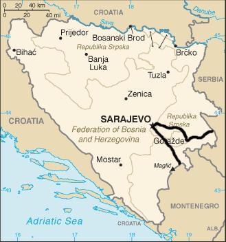 Jugoslawien Karte Früher.Fahrt Durch Bosnien Und Herzegowina Sarajewo Auf Meiner Balkan