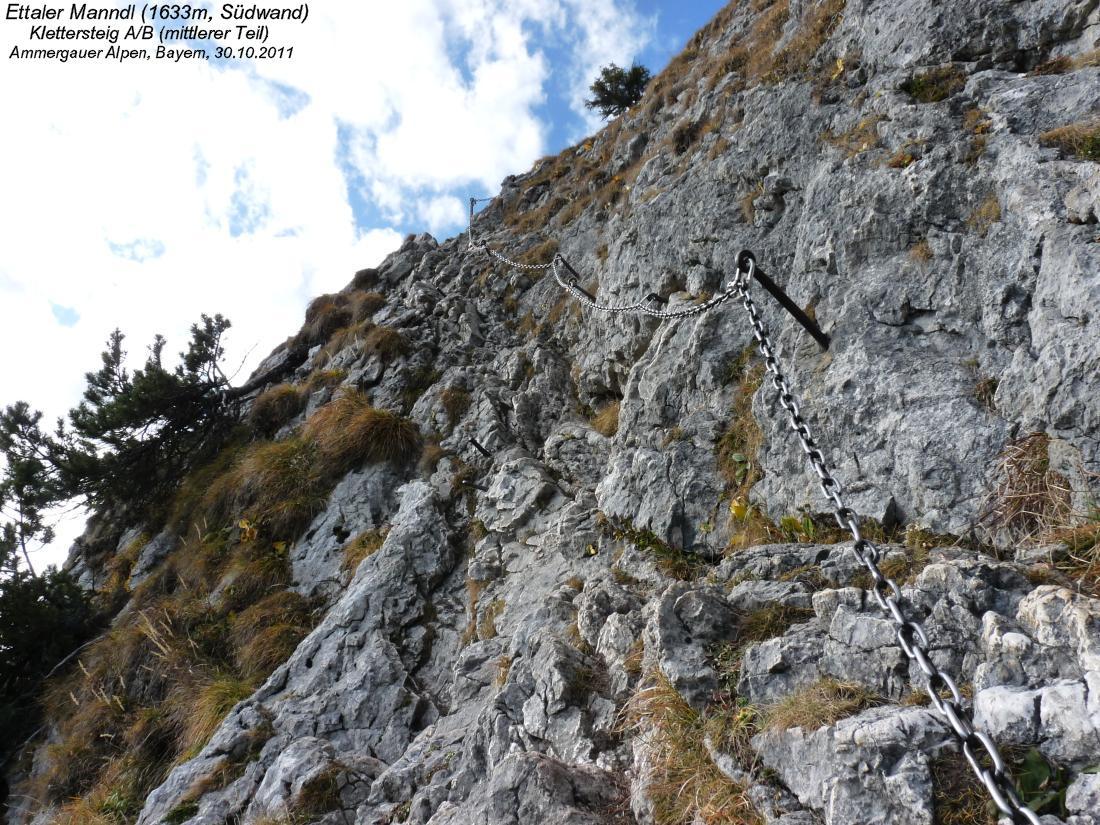 Klettersteig Am Ettaler Mandl : Ettaler manndl m laber ammergauer alpen bayern
