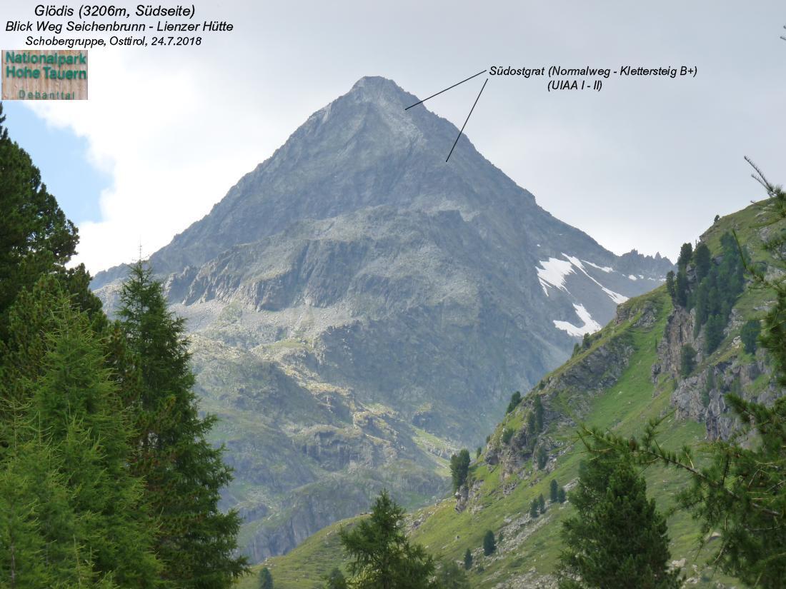 Klettersteig Queenstown : Glödis 3206m lienzer hütte 1977m schobergruppe osttirol