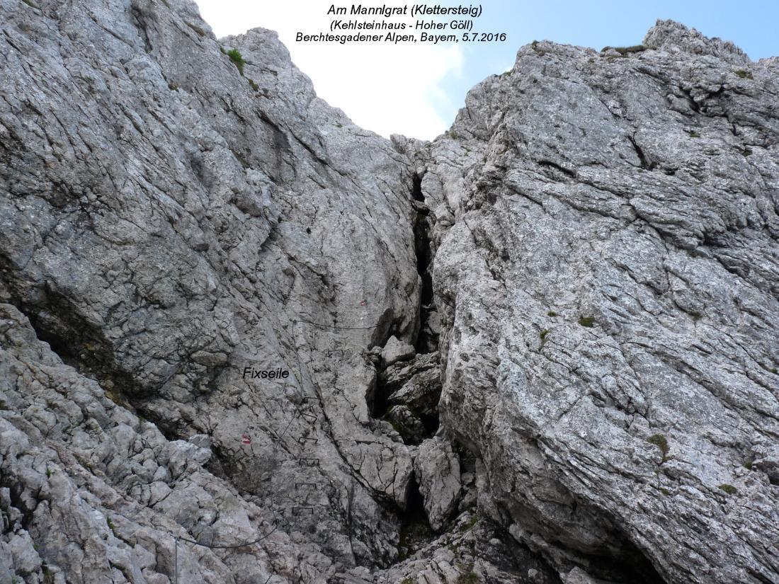 Klettersteig Queenstown : Hoher göll 2522m mannlgrat schusterweg purtschellerhaus