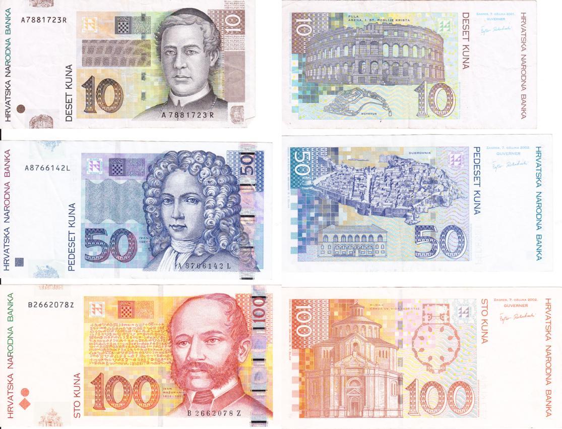 kroatisch währung