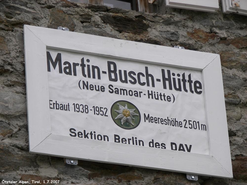 martin busch hütte vent