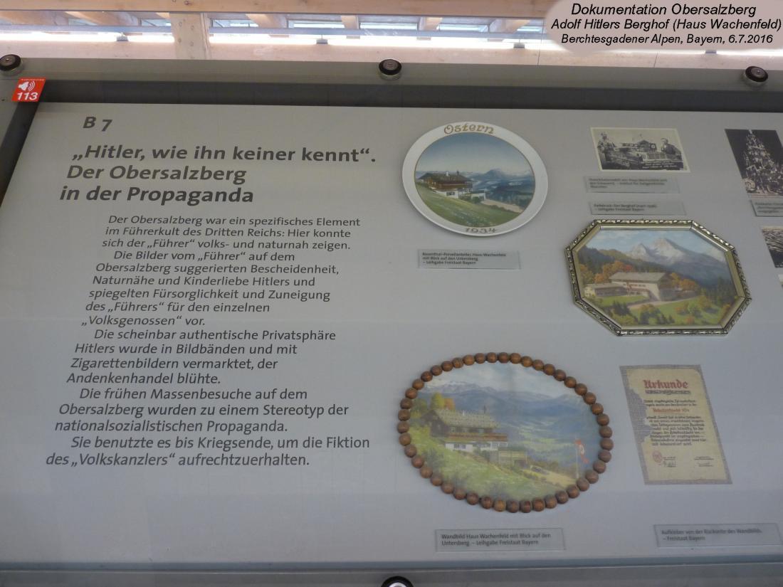 Dokumentation Obersalzberg - Platterhofbunker - ehemaliges Führersperrgebiet - Berghof Hitler ...