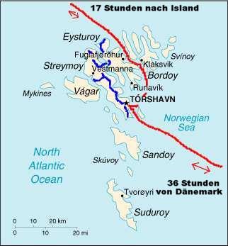 Färöer Inseln Karte.Auf Den Färöer Inseln Føroyar Hauptstadt Tórshavn Auf Meiner