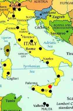 Sizilien Karte ätna.Besuch Und Ausbruch Des Größten Europäischen Vulkans Der ätna